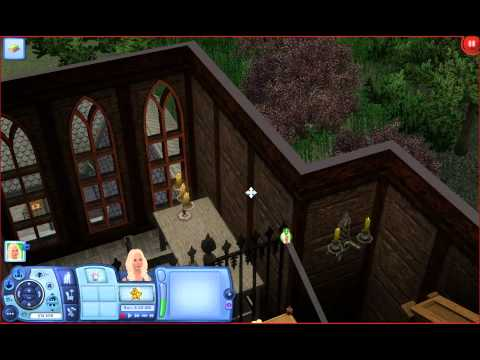 Quxxn Special: Gothique Library (The Sims 3)  w/ Commentary