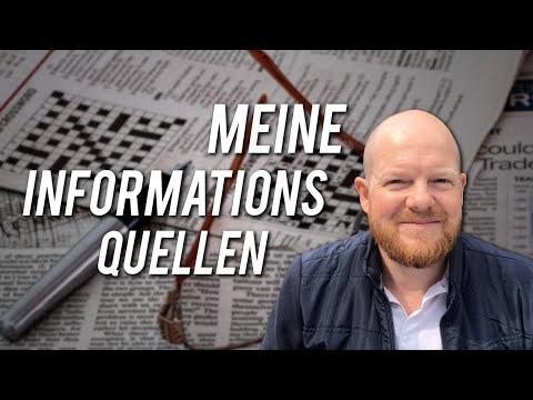Meine Informationsquellen – das lese ich!