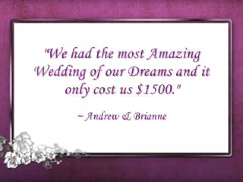 Wedding Planning: Without Spending a Fortune