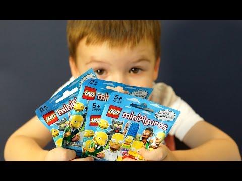 Лего минифигурки 71005 симпсоны на