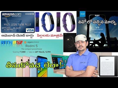 Nanis TechNews Episode 57: Xiaomi Redmi 5, OnePlus 6,  in Telugu || Tech-Logic