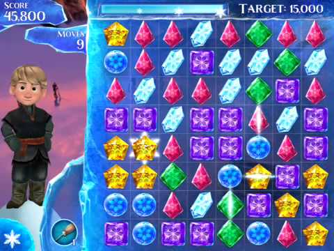 Disney Frozen Free Fall Level 6
