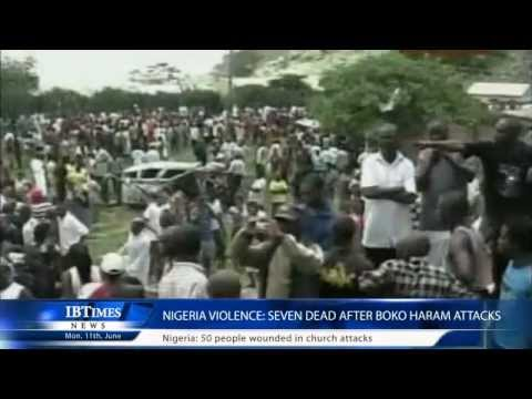 Nigeria violence: Seven dead after Boko Haram attacks