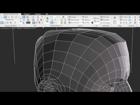 Graphite Modeling Tools  3ds Max 2010 New Features