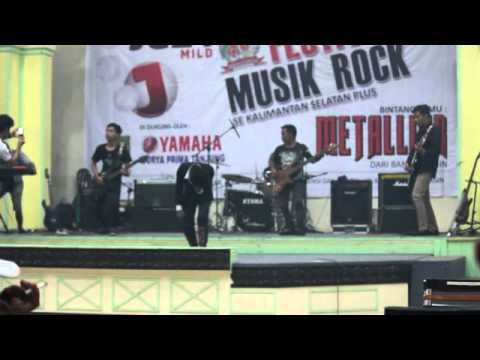 power metal - srigala malam  cover rebels story