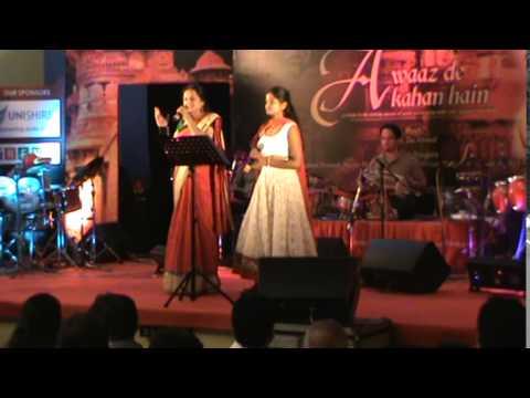 Preethi Rao -Mann kyun Behka - Aawaz de kahaan se with Sheelu...