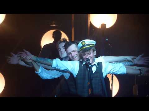 McFly - Titanic theme tune - Memory Lane tour Birmingham 20/4/13
