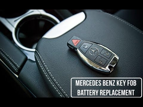 Mercedes Benz Key Fob Battery Replacement 2014-2018
