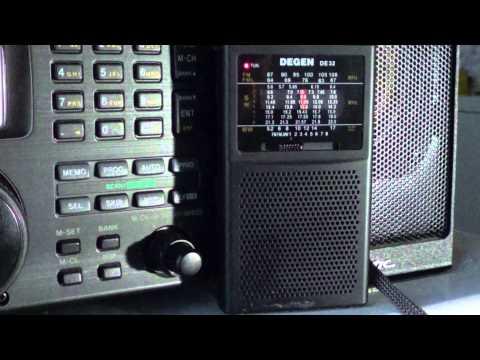 China radio international on Degen DE32