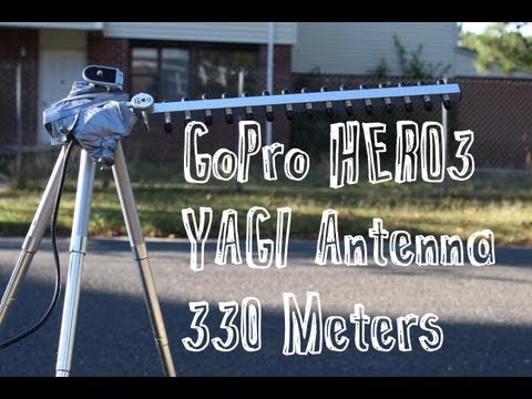 GoPro HERO3 WiFi Distance Test (330 METERS) PART 1