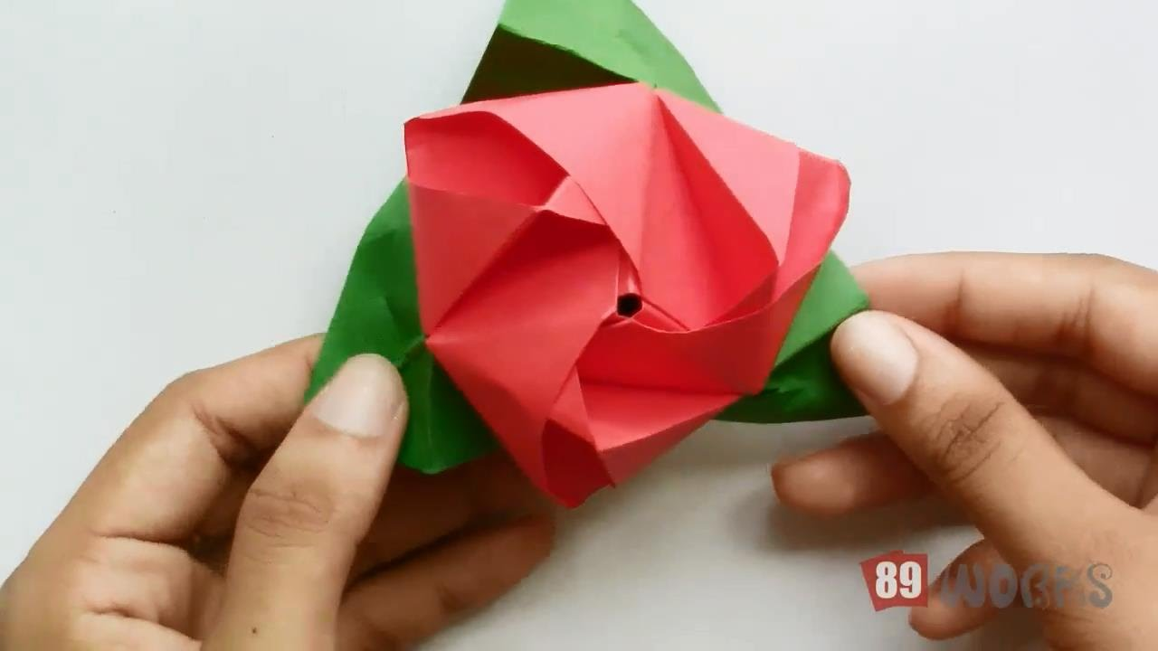 How To Make Paper Cube Origami