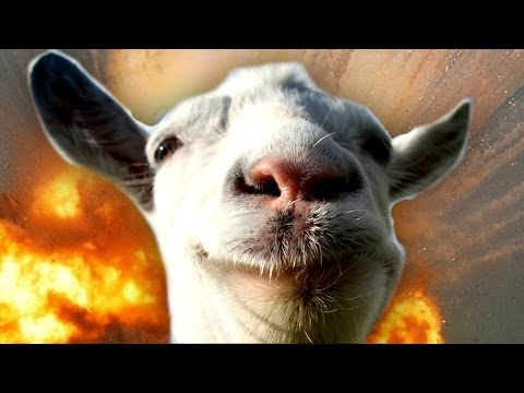 CRAZIEST GAME EVER! - Goat Simulator Gameplay