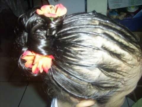 Peinado para fiesta 4