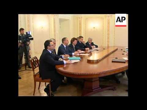 WRAP Tymoshenko comment on gas crisis, Putin meeting PM's