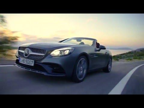 2016 Mercedes SLC 300 Driving Video