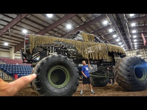 World's First Hand Controlled GIANT Monster Truck!