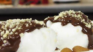 Воздушные белки в шоколаде видео рецепт