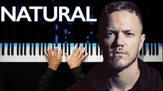 Download Lagu Imagine Dragons - Natural | Piano tutorial Gratis STAFABAND