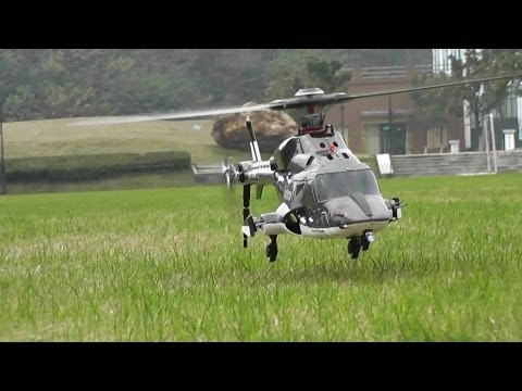 Flight Review - RC Airwolf with 5 blades main rotor head