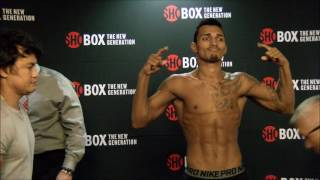ShoBox Weigh in 11-3-16