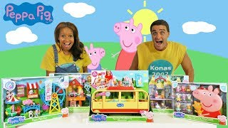 Peppa Pig's Toy Challenge  ! || Toy Review || Konas2002