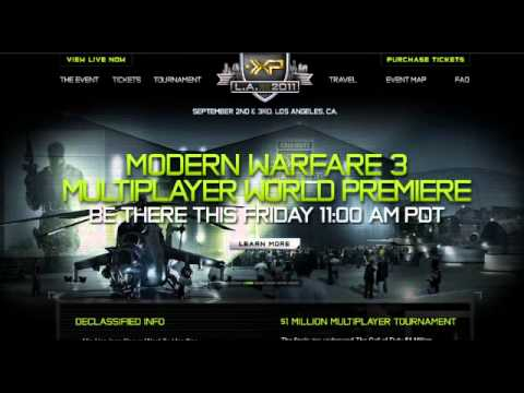 MW3 Multiplayer Trailer Reveal