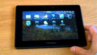 [HD] BlackBerry PlayBook 2.0 Walkthrough