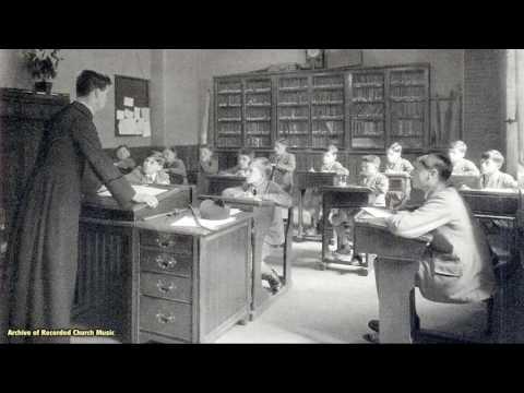 """Death of a Choir School"" (BBC radio): All Saints Margaret Street London 1968"