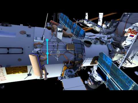 Space Station Live: Russian EVA 38 Animation