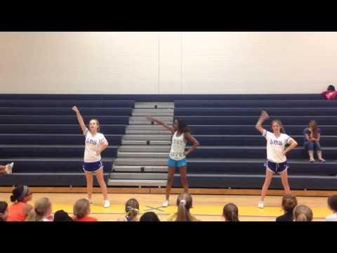 Loris Middle School Tryout Cheer 2014-2015