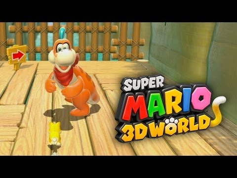 SUPER MARIO 3D WORLD #2 - Usando Toad, Princess Peach, Mario e Luigi!
