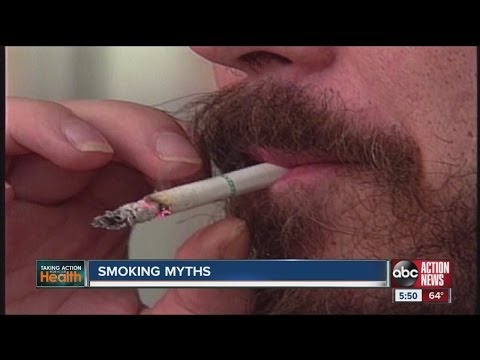 Five myths about smoking and lung cancer