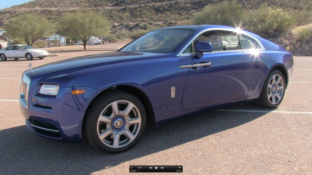 2014 Rolls Royce Wraith Start Up Exhaust Test Drive And