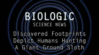 Science News - Discovered Footprints Depict Humans Hunting A Giant Ground Sloth