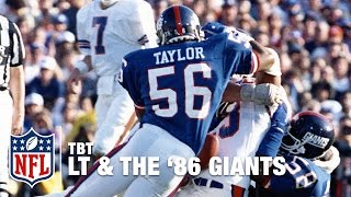 The Greatest Defensive Season of All Time: 1986 MVP Lawrence Taylor | NFL Vault Stories