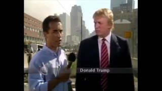 Donald Trump TV Interview at Ground Zero on 9-11-01 (FULL VIDEO)