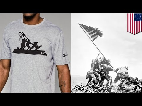 Band of Ballers: Under Armour pulls Battle of Iwo Jima inspired shirt after public outcry - TomoNews