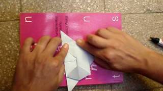 Origami Ashtray Cenicero :: Simple, Quick, Elegante, Ecologic, Useful...