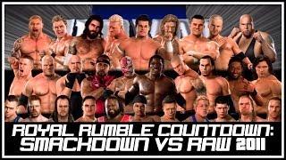 WWE Smackdown vs RAW 2011 - 30 Man Royal Rumble Match