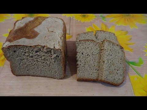 Как сделать бездрожжевое тесто для хлеба видео