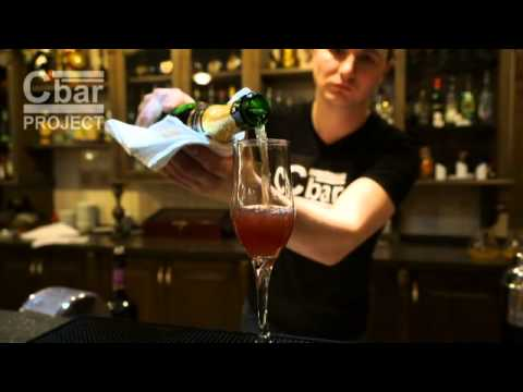 Коктейль Кир Рояль (Kir Royal) рецепт от Cbar-PROJECT