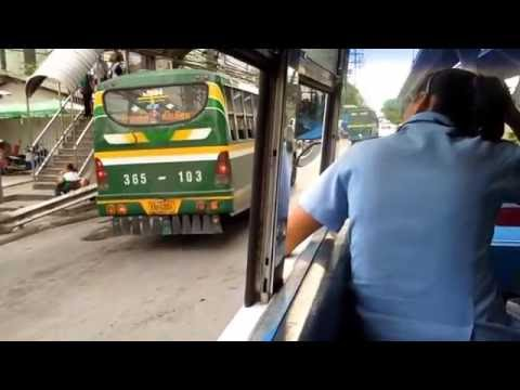 Public Bus in Bangkok
