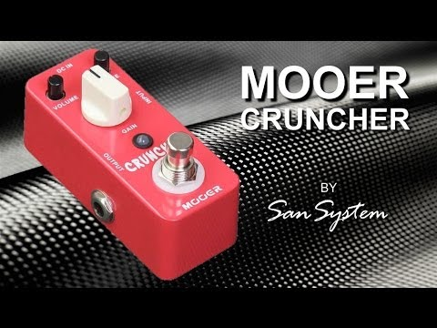 Guitar Effects - MOOER Cruncher (Distortion Pedal)