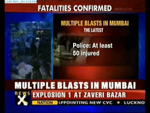 Several injured in Mumbai blasts