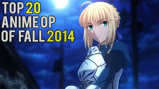 Top 20 Anime Openings of Fall 2014