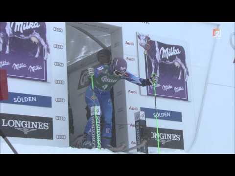 FIS SKI WORLD CUP - Giant Slalom Ladies (Solden - 27.10.2012) - Tina Maze Won