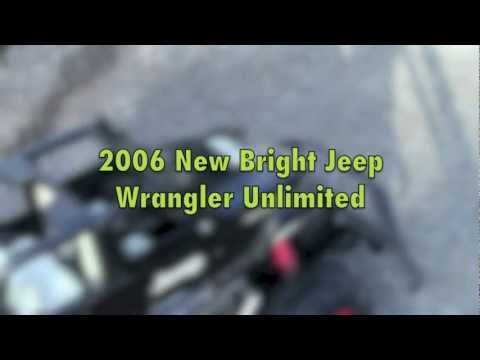 New Bright Jeep Wrangler Unlimited RC Car