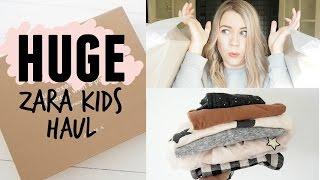 HUGE ZARA KIDS HAUL | Toddler boys, girls and boys clothes | Kate+