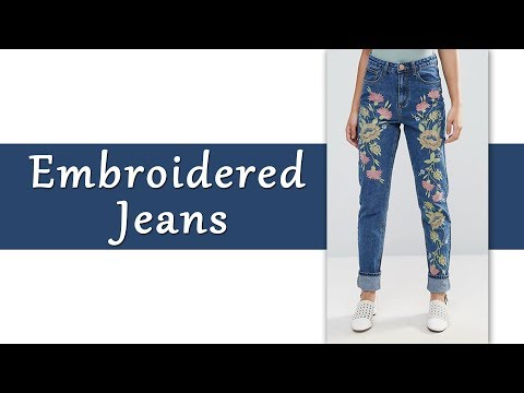 Latest & Trendy  Jeans for Girls / Women | Basics of Fashion Designing #7