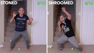 Weed VS Shrooms Challenge (CONDENSED VERSION)